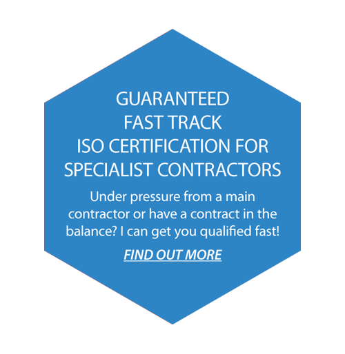 Guaranteed Fast Track ISO Certification