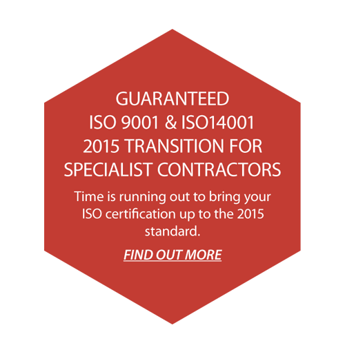 Guaranteed Quality ISO 2015 Conversion Certification